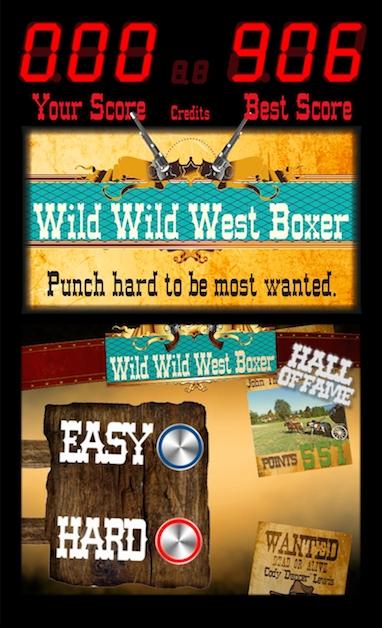 Wild Wild West Boxer