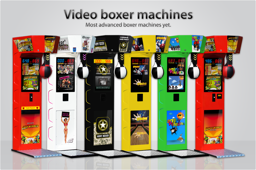 Video Boxer Machines - The most advanced Boxer Machines yet